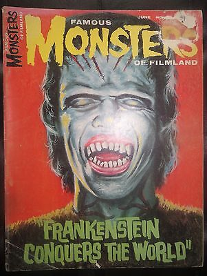 Famous Monsters Of Filmland #39 Warren Horror Magazine