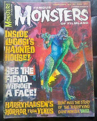 Famous Monsters Of Filmland #37 Warren Horror Magazine