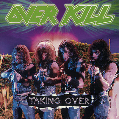 Overkill Taking Over Lp Vinyl New 2014 33Rpm