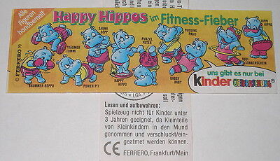 "Bpz ""Happy Hippos im Fitnessfieber"" grosses L"