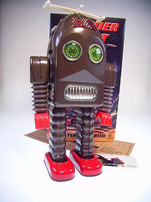 "GSR ""THUNDER ROBOT"" TIN TOM TOYS LIM !  29cm, BO, NEU / NEW IN VERY GOOD BOX !"