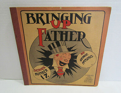 Bringing Up Father Series Number 17 Comic Strip Book 1930 Vintage Platinum Age