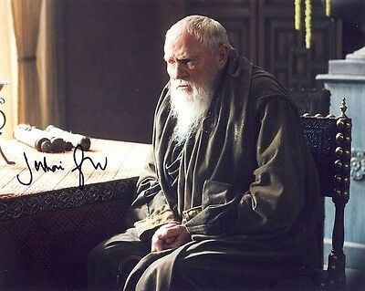 PRICES SLASHED! Game Of Thrones Julian Glover (Pycelle) Signed 10x8 Photo