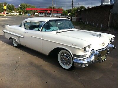 1957 Cadillac SERIES 62 COUPE Base 1957 CADILLAC SERIES 62 COUPE