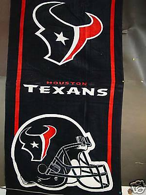 "NFL Beach Towel, ""Houston Texans"", NEW STYLE"