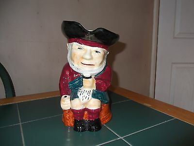 Vintage Large Toby Jug of a Scotsman by Shorter & Sons