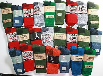 WHOLESALE Resale Lot Womens Thermal Hiking Socks Many Colors and Brands NWT