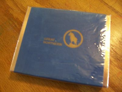 Vintage Great Northern Native American RR railroad Playing Cards NEW in Box
