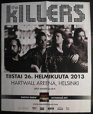 Finnish Demi The Killers Helsinki Tour Poster Finland