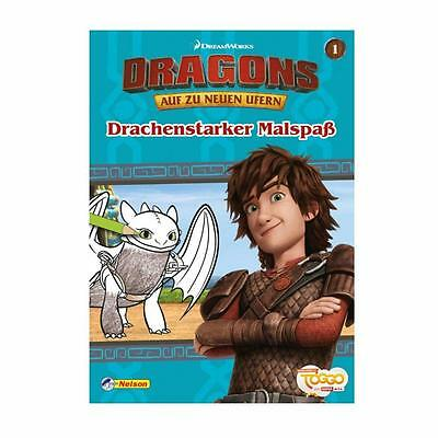 Dragons - Hicks Mal and Puzzle book Blue no. 1 - On to new Shores