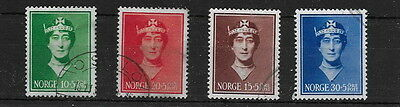 Norway. 1939. Maud. Used. (4)