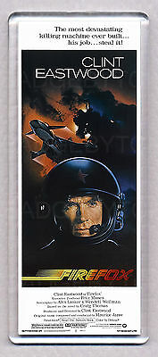 FIREFOX movie poster WIDE FRIDGE MAGNET - CLINT EASTWOOD 80's CLASSIC