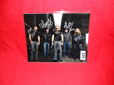 "•Sale• Metal/Rock ""Unearth"" Multi Signed 10x8 Photo"