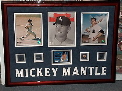 Uda Mickey Mantle Upper Deck Authenticated Signed Autographed Salutes Postcard