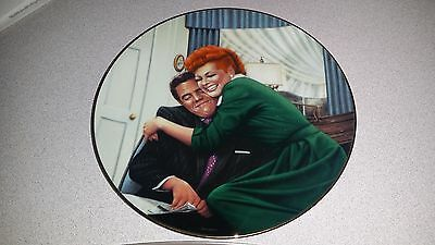 The Big Squeeze I Love Lucy 1989 Hamilton Collectors Plate Limited Edition Coa