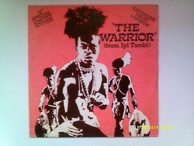 "The Warrior ( From Ipi Tombi ) - Special Disco Edition - 12"" Single 1978 N/mint"