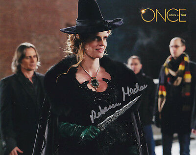 •Sale• Once Upon A Time Rebecca Mader (Zelena) Signed 10x8 Photo