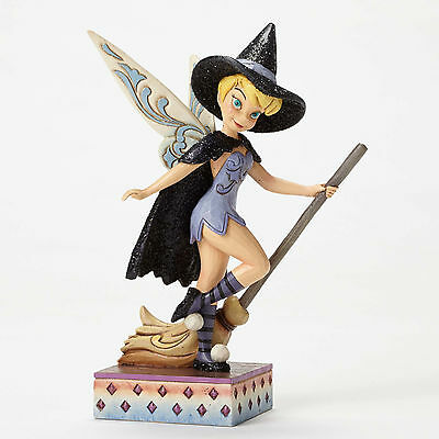 Disney Traditions Jim Shore Witch Tinker Bell Touch of Magic Figurine 4051980