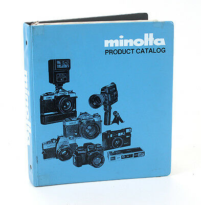 Minolta Dealer Notebook Product Catalog, March 1981/181934