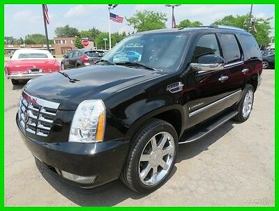 2007 Cadillac Escalade AWD 2007 AWD Used 6.2L V8 16V Automatic SUV OnStar Bose clean clear title carfax we