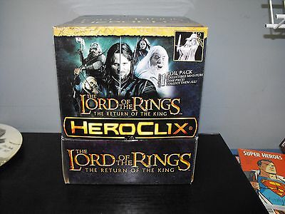 Heroclix Lord Of The Rings Return Of The King Gravity Feed Box