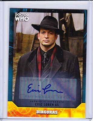 Doctor Who Signature Series Trading Card Autograph Eric Loren