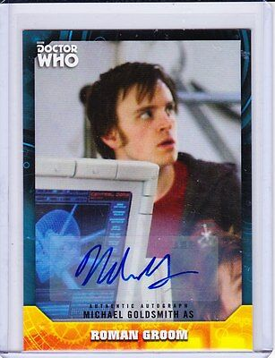 Doctor Who Signature Series Trading Card Autograph Michael Goldsmith