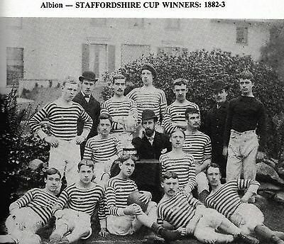 West Bromwich Albion Football Team Photo>1882-83 Season