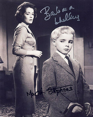•Sale• Village Of The Damned Martin Stephens & Barbara Shelley Signed 10x8 Photo