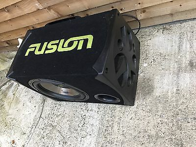 Subwoofer Complete In Box With 450 Amp...