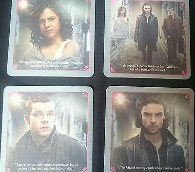 Being Human - Set Of 4 Coasters