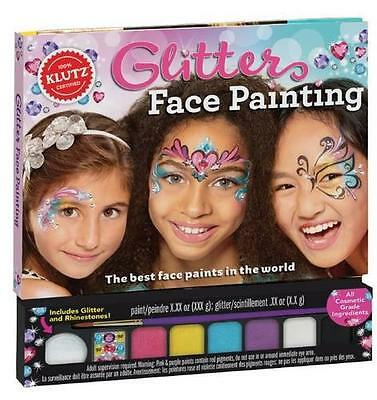 Glitter Face Painting (Klutz) by Editors of Klutz | Paperback Book | 97813380375