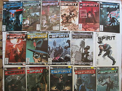 The SPIRIT : complete 16 issue series by Hine,Ellison etc. WILL EISNER. DC 2010