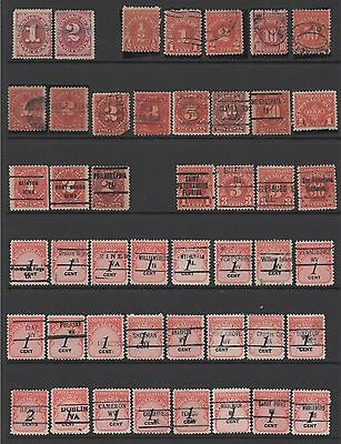 USA - Postage Due Collection