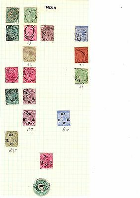 India - large collection -  early through to mid period - high cat inc. Ghandi