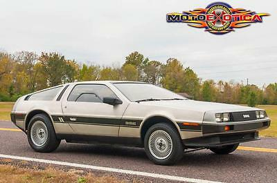 1981 DeLorean DeLorean DMC-12 DMC-12 1981 DeLorean DMC-12, 879 actual miles, Stored from New, Manual Trans