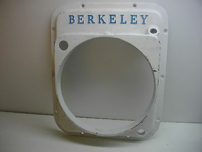 Berkeley Jet Pump 0 to 9 degree Transom Housing plate H-2503 boat marine