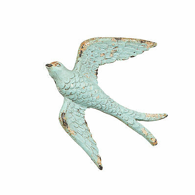 Vintage Blue Swallow Drawer Knob Door Cabinet Handle Pull Antique Bird Cupboard