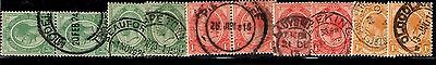 South Africa - collection of first definitives - pairs etc. to 1/-