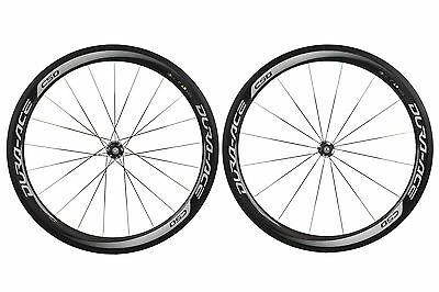 Shimano Dura Ace C50 Carbon Tubular Road Bike Wheel Set WH-9000 700c 11 Speed