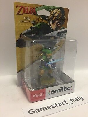 Nintendo Amiibo Link Zelda Skyward Sword - Wiiu Switch Rare Zelda Collection
