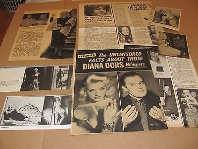 Diana Dors        Clippings   Wow   #0613