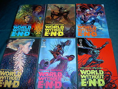 WORLD WITHOUT END : Complete 6 issue series by Delano & Higgins. VERTIGO PRE-RUN