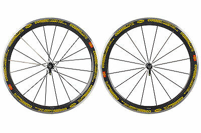 Mavic Cosmic Carbone SL Road Bike Wheel Set 700c Clincher Shimano 10 / 11 Speed