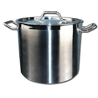 Winware Stainless Steel 16 Quart Stock Pot with Cover New