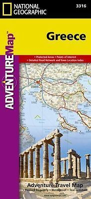 National Geographic Adventure Map: Greece 3316 by National Geographic Maps...