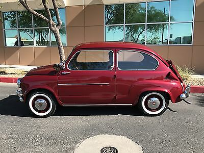 1959 Fiat 500 600 NO RESERVE  1959 Fiat 600 coupe clean daily driver very rare
