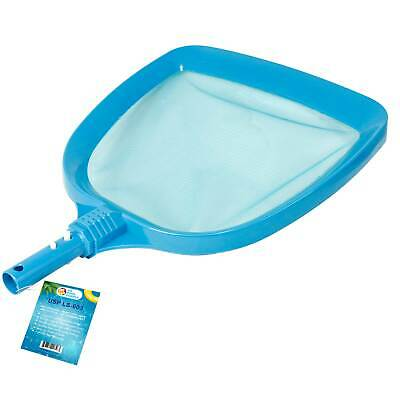 "Heavy Duty Large 15"" x 16"" Wide Mouth Swimming Pool Leaf Skimmer Net Clean Water"