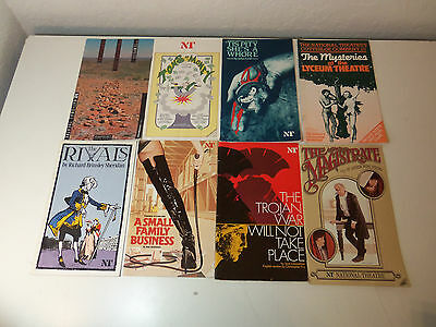 1980's Lot 8 ENGLISH PROGRAMS National Theatre THE MAGISTRATE RIVALS TROJAN WAR