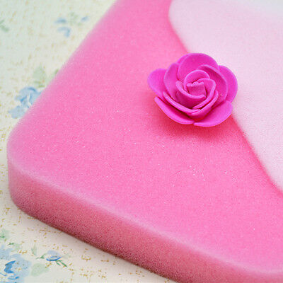 2pcs Fondant Cake Foam Pad Sponge Sugarcraft Flower Modelling Gum Paste Decor